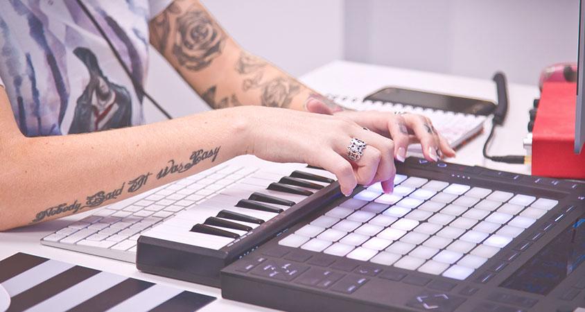 """Workshop: """"Make your Beat"""" Introducción a la músicaelectrónica"""